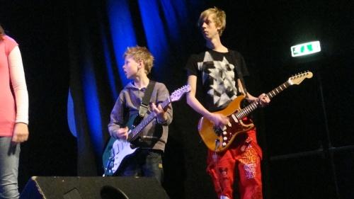 Neste generasjons musikere på scena